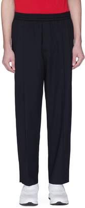 McQ Pleated virgin wool jogging pants
