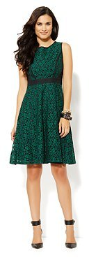 New York & Co. Fit & Flare Lace Dress