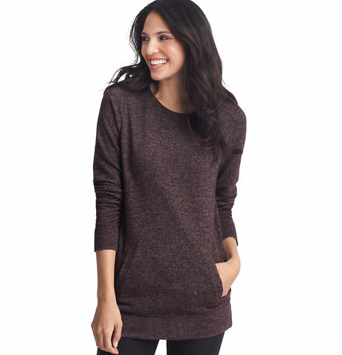 LOFT Speckled Terry Tunic