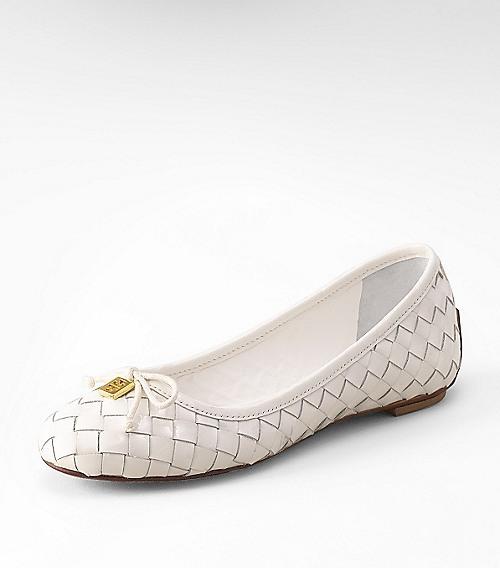 Tory Burch Patent Prescot 2 Ballet Flat