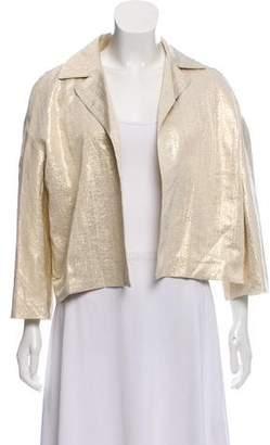 Marni Metallic Open Front Jacket