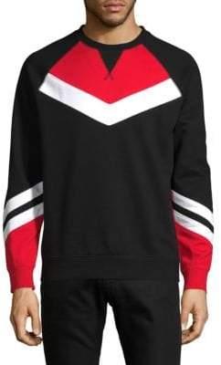 Colorblock French Terry Sweatshirt