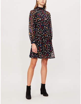 Claudie Pierlot Resis chiffon dress