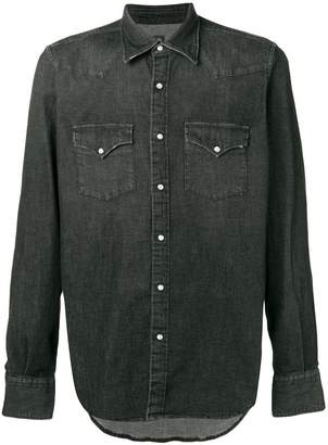 Eleventy button down denim shirt