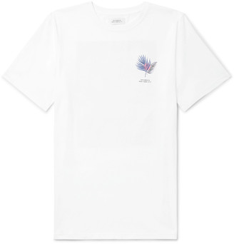 Saturdays NYC Logo-Print Cotton-Jersey T-Shirt