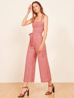 Reformation Birch Jumpsuit