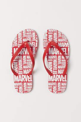 H&M Flip-flops with Printed Design