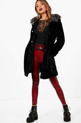 boohoo Jessica Boutique Faux Fur Parka