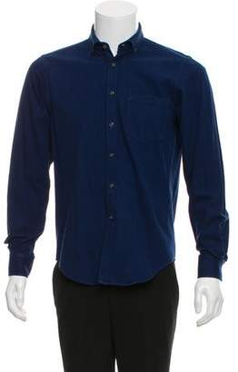 Simon Spurr Woven Button-Up Shirt