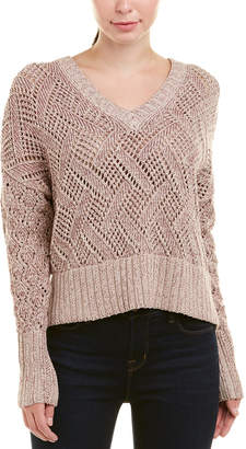 Autumn Cashmere Cotton By Pointelle Sweater