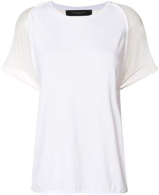 c3ae9d238a464 Extra 20% Off Sale  x20sept at Farfetch · Federica Tosi sheer sleeved T- shirt