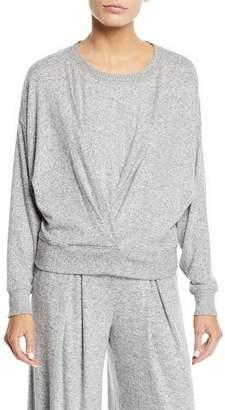Joie Yerrick Draped Sweatshirt
