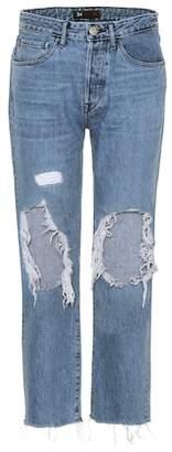 3x1 W3 Higher Ground cropped boyfriend jeans