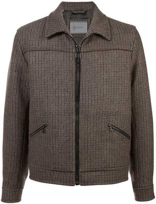 Lanvin zipped fitted coat