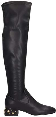 See by Chloe Black Leather High Boots