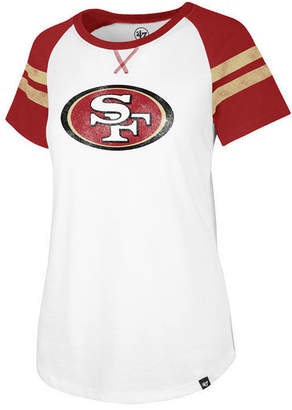'47 Women's San Francisco 49ers Flyout Raglan T-Shirt