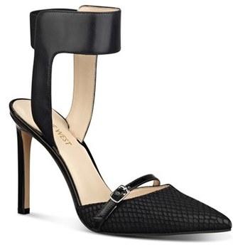 Women's Nine West 'Tabia' Ankle Strap Pump $89 thestylecure.com