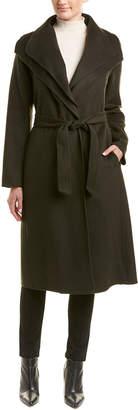 T Tahari Missy Elliot Wool-Blend Coat