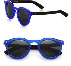 Illesteva Leonard II 53MM Round Sunglasses $240 thestylecure.com