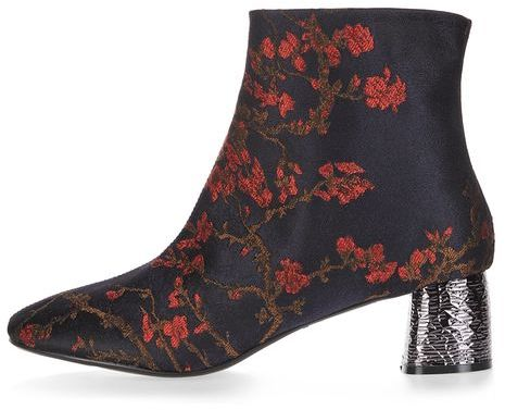Topshop Topshop Bumble feature ankle boots