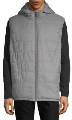 Vince Camuto Quilted Hooded Vest
