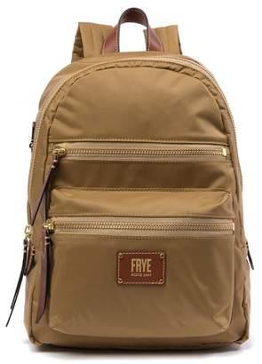 Frye Ivy Nylon Leather Trimmed Backpack