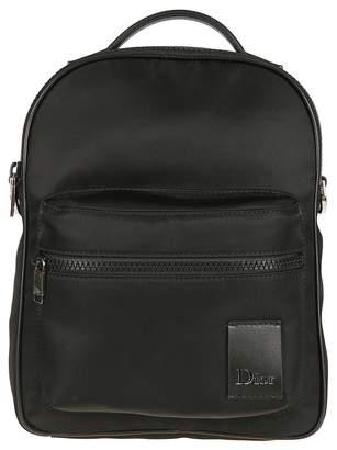Christian Dior Zipped Shoulder Bag