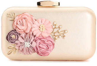 Townsend Lulu Floral Applique Clutch - Women's