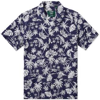 Gitman Brothers x END. Short Sleeve Floral Shirt