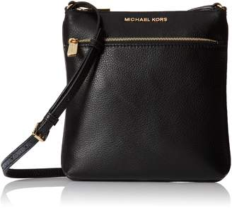 Michael Kors Riley Leather Flat Crossbody ...