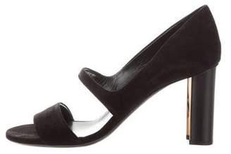 Hermes Suede High-Heel Sandals