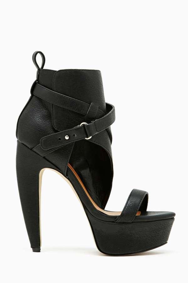 Nasty Gal Shoe Cult Narbonne Platform Heel
