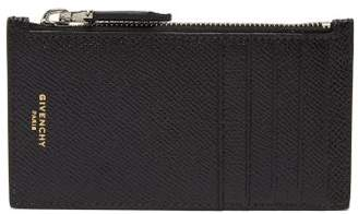 Givenchy Textured Leather Card Holder - Mens - Black