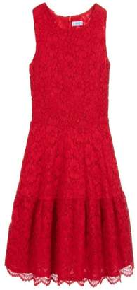 Mayoral Red Lace Dress