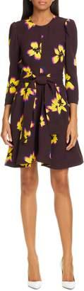 A.L.C. Stella Floral Print Silk Dress