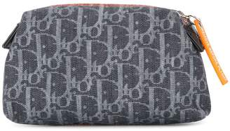 Christian Dior Pre-Owned denim Trotter cosmetic bag