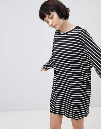 New Look Stripe Jersey Tunic Dress