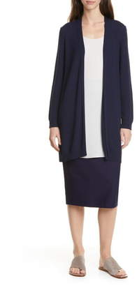Eileen Fisher Simple Textured Cardigan
