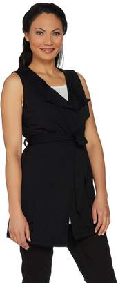 Lisa Rinna Collection French Terry Duster Vest