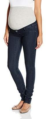Mama Licious MAMALICIOUS Women's MLJULIA UNW SLIM DARK BLUE JEANS Maternity Jeans,W27/L34 (Manufacturer size: 27)