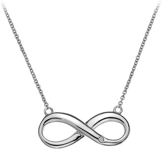 Hot Diamonds Sterling Silver Infinity Necklace