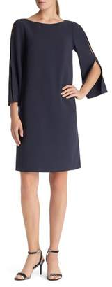 Lafayette 148 New York Candace Finesse Crepe Shift Dress