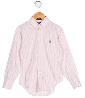 Polo Ralph Lauren Boys' Striped Button-Up Shirt