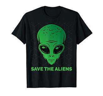 Storm Area 51 They Can't Stop Us Alien Extraterrestrial UFO T-Shirt