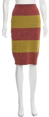Dries Van Noten High-Rise Knit Skirt