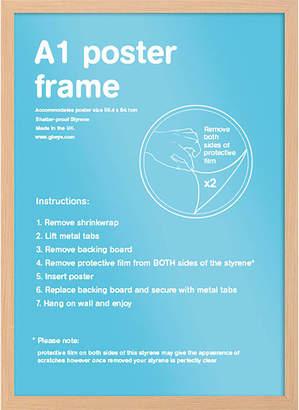 Gb Eye Oak Wooden A1 Poster/Print Frame 59.4x84.1cm