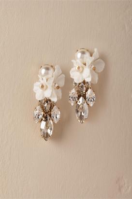 Anton Heunis Orchid Waterfall Earrings
