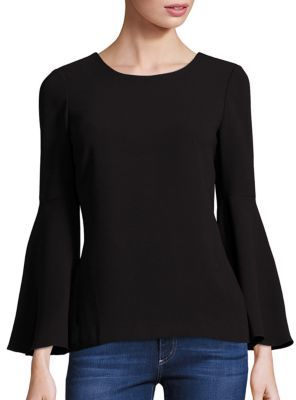 Elizabeth and James Raleigh Bell Sleeve Top $275 thestylecure.com
