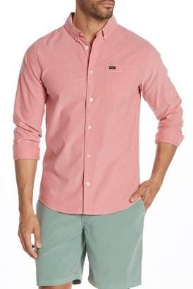 RVCA That'll Do Long Sleeve Slim Fit Shirt