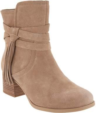 394ba57d79b0 Koolaburra By Ugg by UGG Suede Tassel Ankle Boots - Kenz